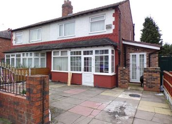 Thumbnail 4 bed semi-detached house for sale in Kings Road, Chorlton Cum Hardy, Manchester