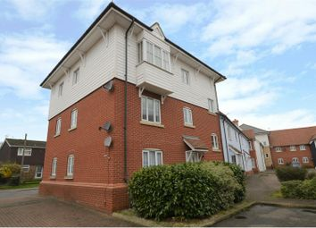 Thumbnail 2 bed flat for sale in Marsh Crescent, Rowhedge, Colchester