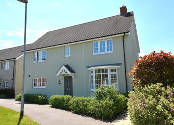 Thumbnail 4 bed detached house for sale in Saffron Way, Little Canfield, Dunmow, Essex