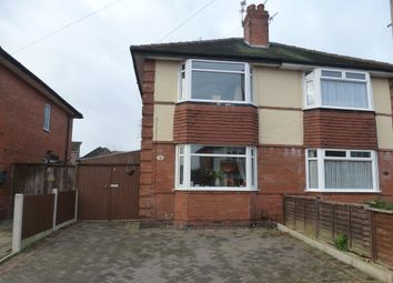 Thumbnail 2 bedroom semi-detached house for sale in Lincoln Avenue, Alvaston, Derby