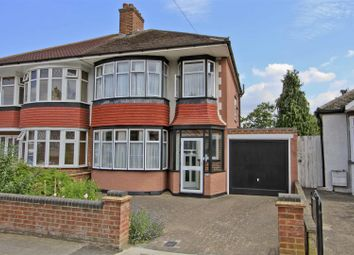 Thumbnail 3 bed semi-detached house for sale in Eversley Crescent, Ruislip