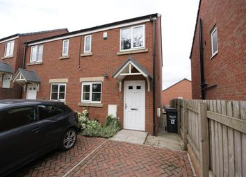 Thumbnail 2 bed semi-detached house to rent in Newson Court, Lightcliffe, Halifax