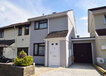 Thumbnail 3 bed semi-detached house for sale in Delacombe Close, Plympton, Plymouth