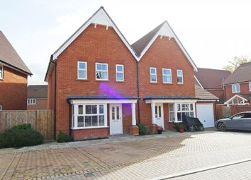 Thumbnail 3 bed semi-detached house to rent in Highwood Crescent, Highwood, Horsham