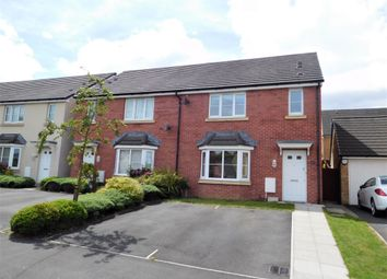 Thumbnail 3 bed semi-detached house for sale in Druids Close, Castell Maen, Caerphilly