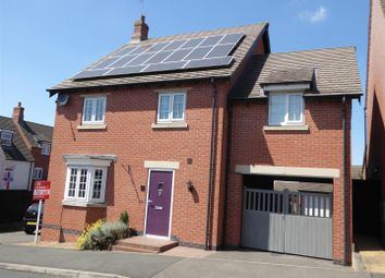 Thumbnail 4 bed detached house for sale in Luton Road, Church Gresley, Swadlincote