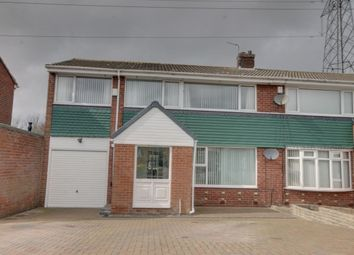 Thumbnail 5 bedroom semi-detached house for sale in Casterton Grove, Chapel House, Newcastle Upon Tyne