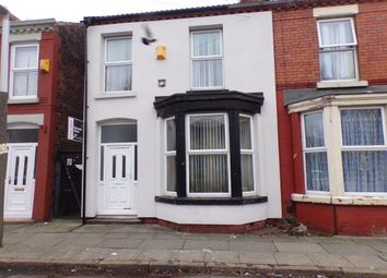 Thumbnail 3 bed end terrace house for sale in Callow Road, Wavertree, Liverpool, Merseyside
