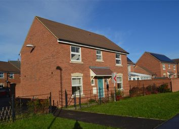 Thumbnail 4 bed detached house to rent in Fylingdales Gardens, Kingsway, Quedgeley, Gloucester