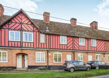 Thumbnail 2 bedroom cottage for sale in Cobbold Row, Earl Soham, Woodbridge