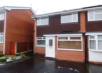 Thumbnail 3 bed semi-detached house to rent in Lytham Drive, Bramhall, Stockport