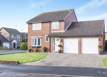 Thumbnail 4 bedroom detached house for sale in Quincy Road, Egham