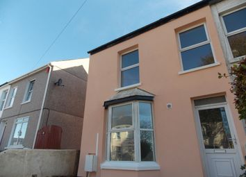 Thumbnail 1 bed flat to rent in Kings Road, Camborne, Cornwall