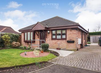 Thumbnail 2 bed detached bungalow for sale in Stonegate Close, Blaxton, Doncaster