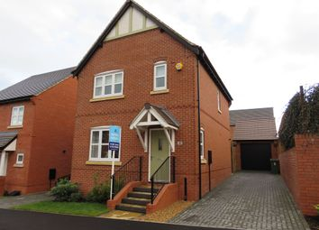 Thumbnail 3 bed detached house for sale in Canberra Close, Castle Donington, Derby