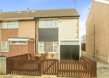 Thumbnail 2 bedroom end terrace house for sale in Rosedale Walk, Leeds