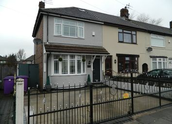 Thumbnail 3 bed end terrace house for sale in Carr Lane East, Liverpool