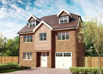 Thumbnail 4 bed detached house for sale in Bagshot Road, Knaphill, Surrey