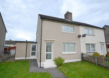 Thumbnail 2 bed semi-detached house for sale in Buckle Avenue, Cleator Moor, Whitehaven, Cumbria