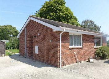 Thumbnail 2 bed detached bungalow for sale in Holly Road, Weymouth, Dorset