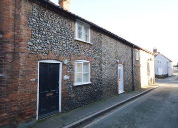 Thumbnail 1 bedroom terraced house to rent in Swan Street, Fakenham, Norfolk