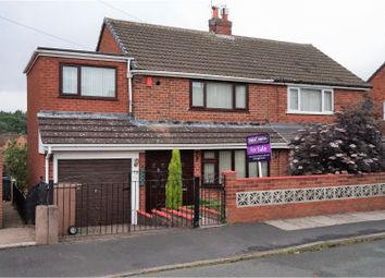 Thumbnail 3 bed semi-detached house for sale in Crediton Avenue, Stoke-On-Trent