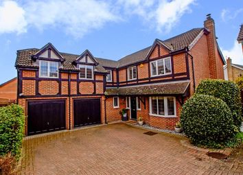 Thumbnail 5 bed detached house for sale in Stoat Close, Hertford