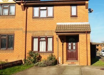 Thumbnail 2 bedroom end terrace house for sale in Chaffinch Road, Tolworth, Surrey