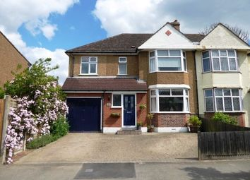 Thumbnail 4 bedroom semi-detached house for sale in Somerset Avenue, Chessington
