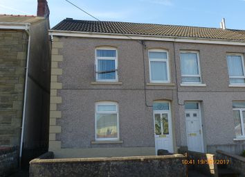 Thumbnail 3 bed end terrace house for sale in New Ceidrim Road, Garnant, Ammanford, Carmarthenshire.