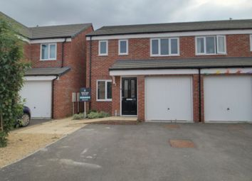 Thumbnail 3 bed semi-detached house for sale in Saxonbury Way, Hempsted, Peterborough