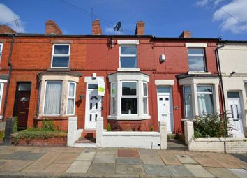 Thumbnail 2 bed terraced house for sale in Leighton Road, Tranmere, Birkenhead