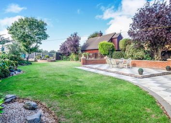 Thumbnail 4 bed detached house for sale in Coates Road, Eastrea, Peterborough