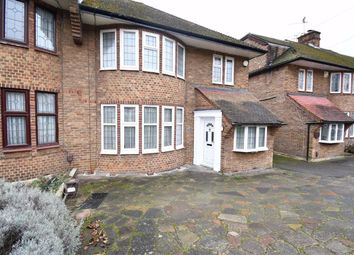 Thumbnail 3 bed semi-detached house to rent in Michleham Down, London
