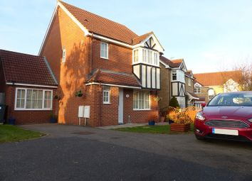 Thumbnail 3 bedroom detached house for sale in Ferndale, Yaxley, Peterborough, Cambridgeshire.