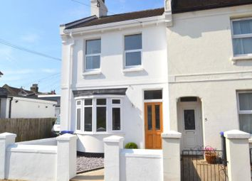 Thumbnail 3 bedroom end terrace house for sale in Becket Road, Tarring, Worthing