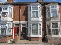 Thumbnail 2 bed terraced house to rent in Wilberforce Road, West End, Leicester