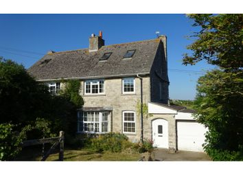 Thumbnail 4 bed semi-detached house for sale in Bonvils Road, Swanage