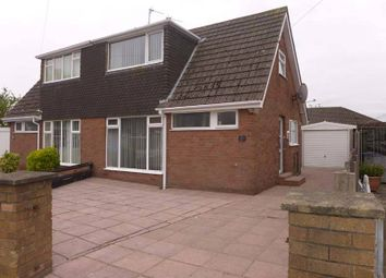 Thumbnail 2 bedroom semi-detached house for sale in Sandiways Close, Thornton-Cleveleys