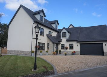 Thumbnail 6 bed detached house for sale in The Windings, Machen