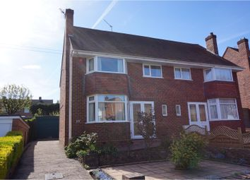 Thumbnail 3 bed semi-detached house for sale in Oakenshaw Road, Redditch