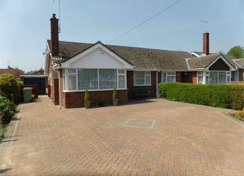 Thumbnail 2 bed semi-detached bungalow for sale in 9 Cecil Close, Bourne, Lincs