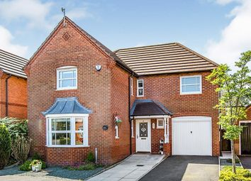Thumbnail 4 bed detached house for sale in Mile Stone Meadow, Euxton, Chorley, Lancashire