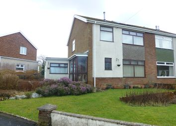 Thumbnail 3 bed semi-detached house for sale in Maesycoed, Ammanford, Carmarthenshire.