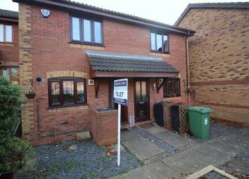 Thumbnail 2 bed terraced house to rent in Ashmores Close, Hunt End, Redditch