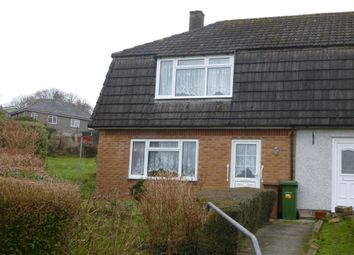 Thumbnail 3 bed end terrace house to rent in Hele Gardens, Plymouth