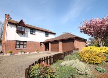 Thumbnail 4 bed detached house for sale in Keswick Close, Felixstowe