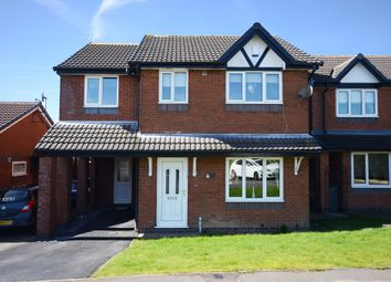 Thumbnail 4 bed detached house for sale in Bowfell Grove, Saxonfields, Stoke-On-Trent