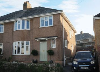 Thumbnail 4 bed semi-detached house for sale in Lyndrick Road, Hartley, Plymouth