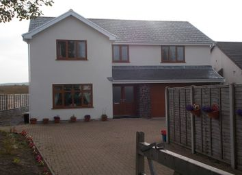 Thumbnail 4 bedroom detached house to rent in Station Road, Coelbren, Neath.